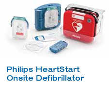 Phillips Heartstart AED