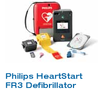 Phillips Heartstart AED FR3